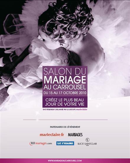 J 39 ai test pour vous le salon du mariage du carrousel du - Salon carrousel du louvre ...