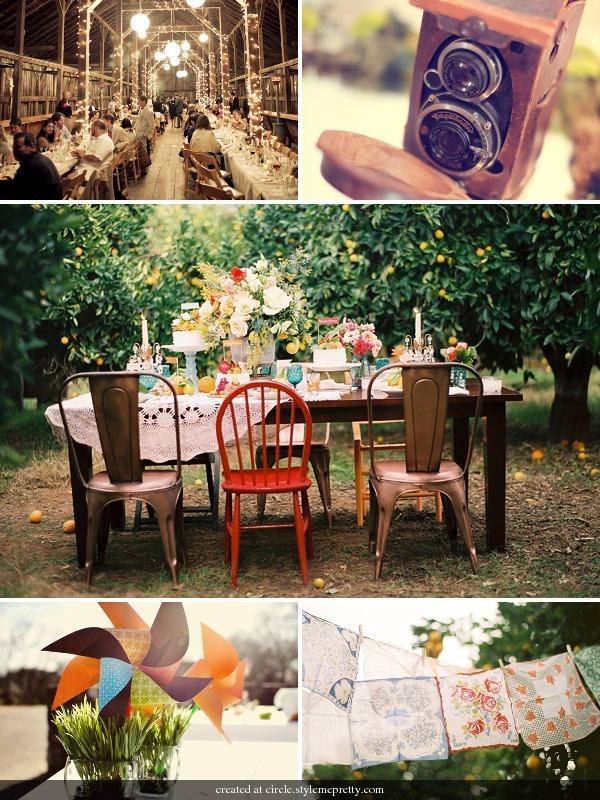 mariage d 39 automne inspirations champ tres et vintage la fianc e du panda. Black Bedroom Furniture Sets. Home Design Ideas