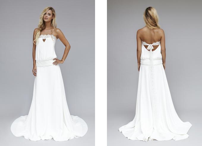 Rime Arodaky robe de mariee 2013 Keith top jupe bonnie modèle