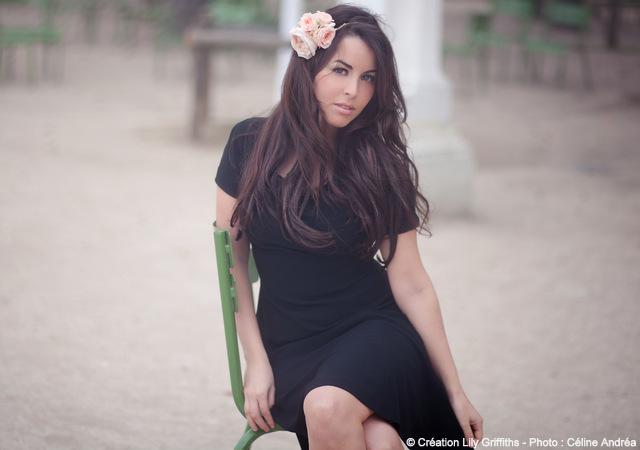 Credit photo Celine Andrea - couronne de fleurs Lily Griffiths - LaFianceeduPanda.com