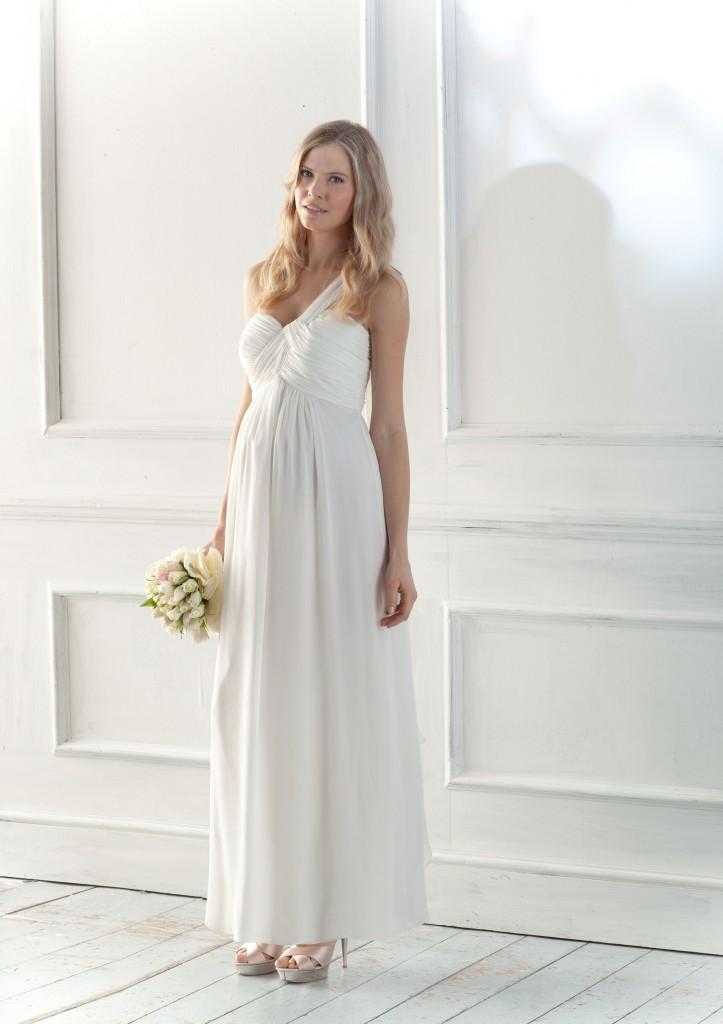 Robe de mariee femme enceinte - Angelica Seraphine - La Fiancee du Panda