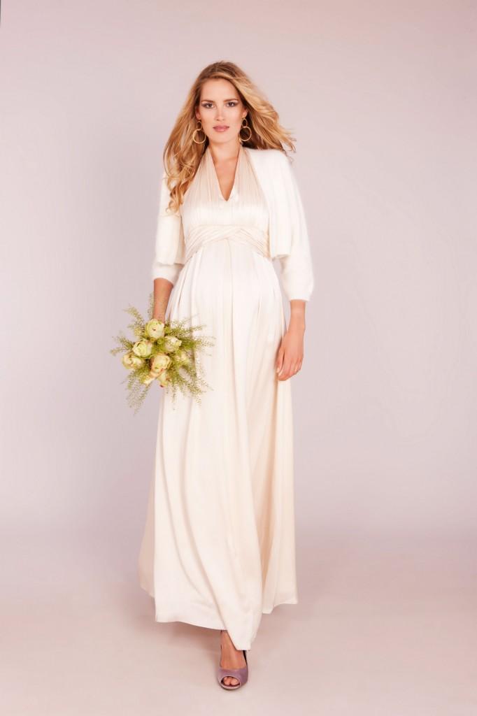 Robe de mariee femme enceinte - Athena Seraphine - La Fiancee du Panda