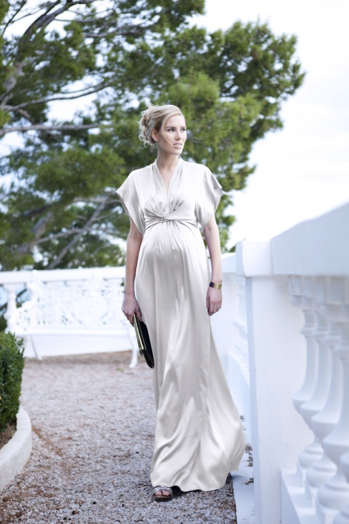 Robe de mariee femme enceinte - Belle Seraphine - La Fiancee du Panda