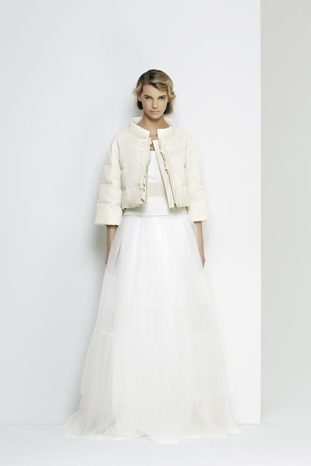 Robes de mari e max mara bridal 2014 la fianc e du panda - Manteau mariage hiver ...