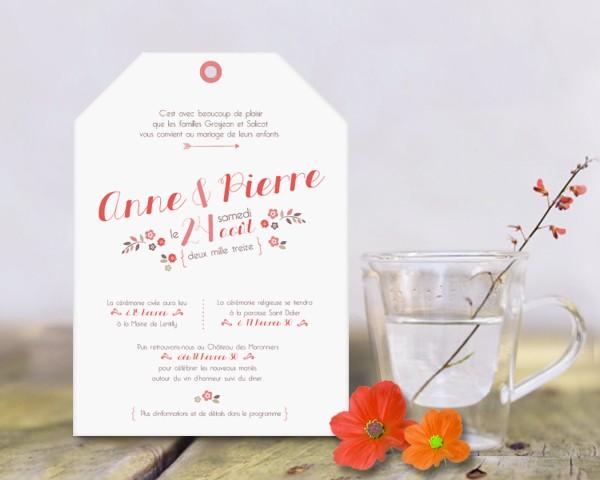 Papier et Poesie - faire-part save the date mariage originaux - LaFianceeduPanda 2