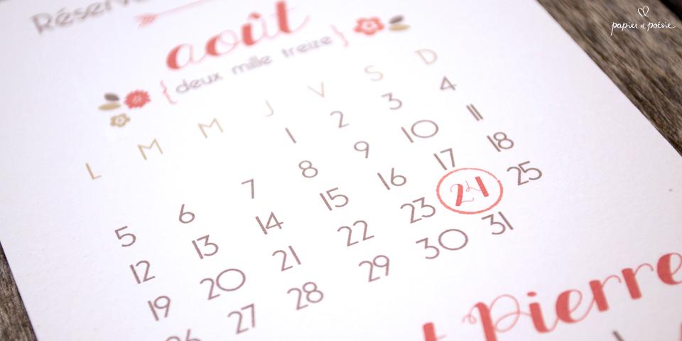 Papier et Poesie - faire-part save the date mariage originaux - LaFianceeduPanda 6