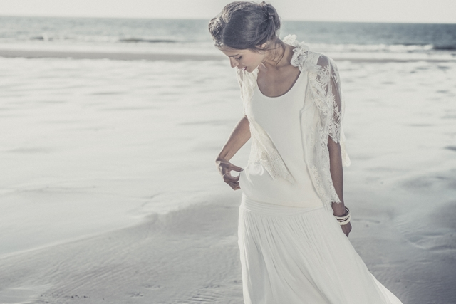 Laure de Sagazan robe de mariee Andersen 2014 - LaFianceeduPanda.com