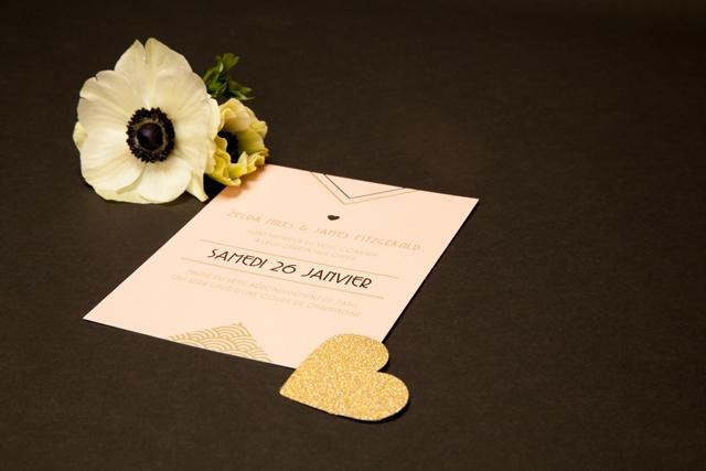 faire-part Art deco Mister M Studio Collection xFDP - Loove photography - LaFianceeduPanda.com 9
