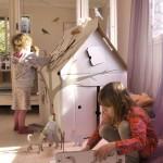 idee cadeau noel enfant cabane en carton kidsonroof - LaFianceeduPanda.com