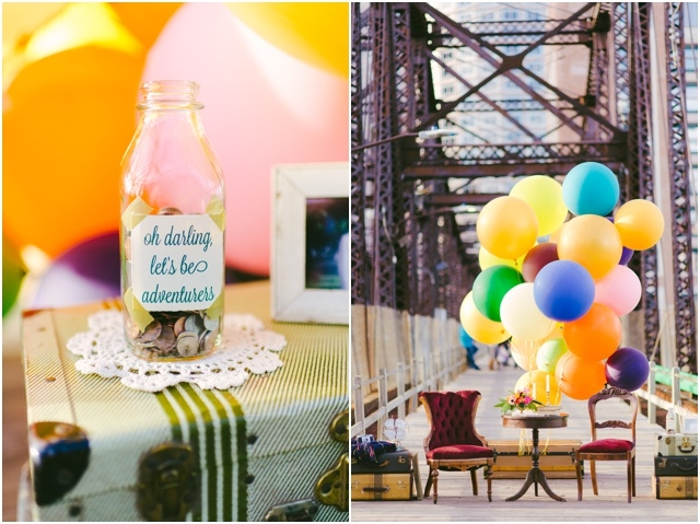 Anniversaire de mariage theme La Haut couple de petits vieux - Cambria Grace - LaFianceeduPanda.com_0007