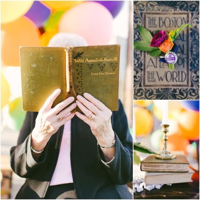 Anniversaire de mariage theme La Haut couple de petits vieux - Cambria Grace - LaFianceeduPanda.com_0010
