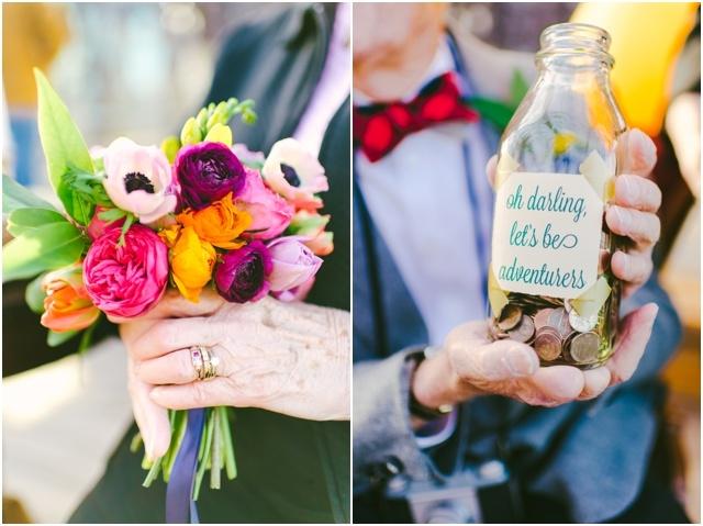 Anniversaire de mariage theme La Haut couple de petits vieux - Cambria Grace - LaFianceeduPanda.com_0017