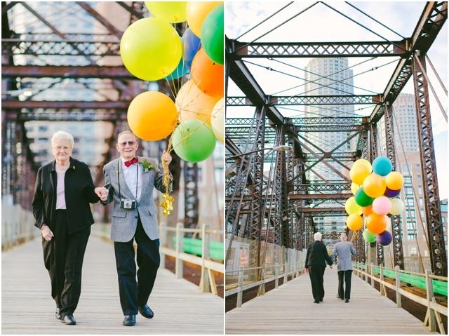 Anniversaire de mariage theme La Haut couple de petits vieux - Cambria Grace - LaFianceeduPanda.com_0020