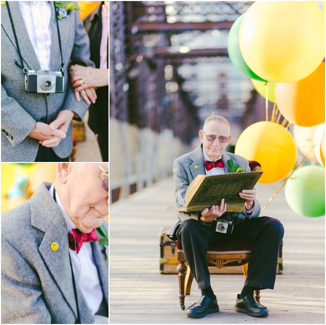 Anniversaire de mariage theme La Haut couple de petits vieux - Cambria Grace - LaFianceeduPanda.com_0021