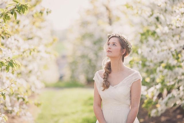 Robes de mariee Stephanie Le Grelle creatrice Bruxelles - Photos Maxime Degee - La Fiancee du Panda Blog mariage-