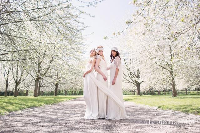Rhapsodie Paris couronne fleur cheveux mariee - photo Claude Masselot - La Fiancee du Panda Blog mariage