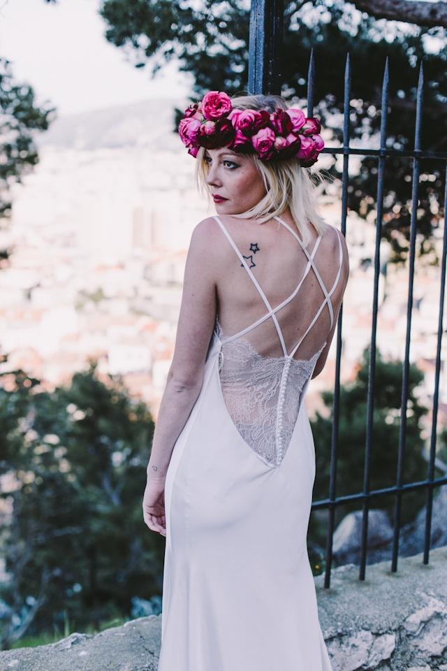 Robe de mariee Manon Gontero Marseille - Photo Laurent Brouzet - La Fiancee du Panda Blog Mariage et Lifestyle