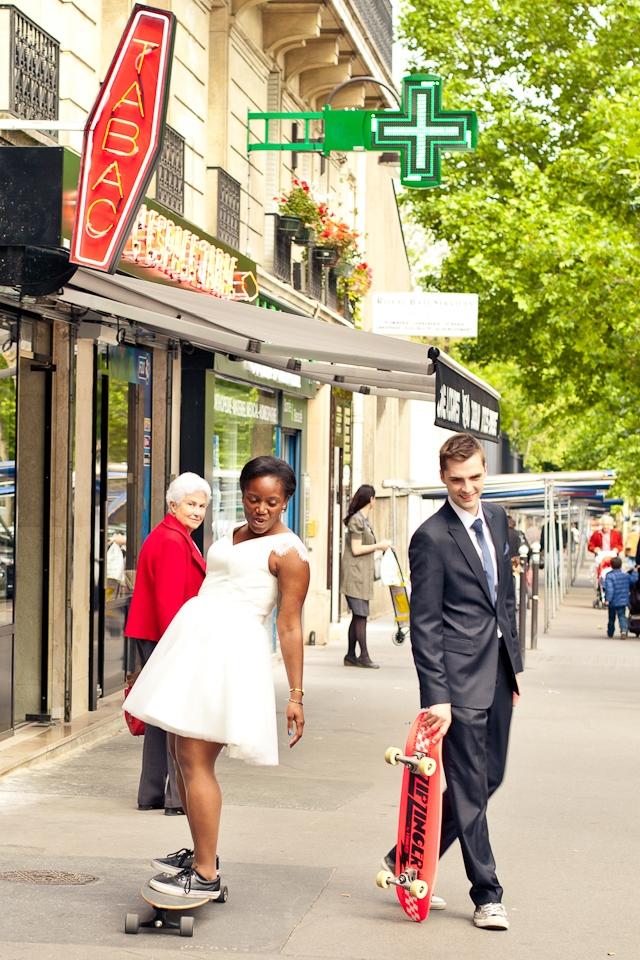 mariage paris urbain et colore pimprunelle photographe la fiancee du panda blog mariage et - Peniche Mariage Paris