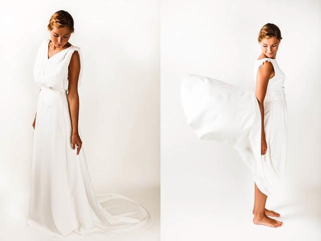 Marion kenezi robe de mariee jupe jeanne la fiancee du for Robe de mariage et jupe