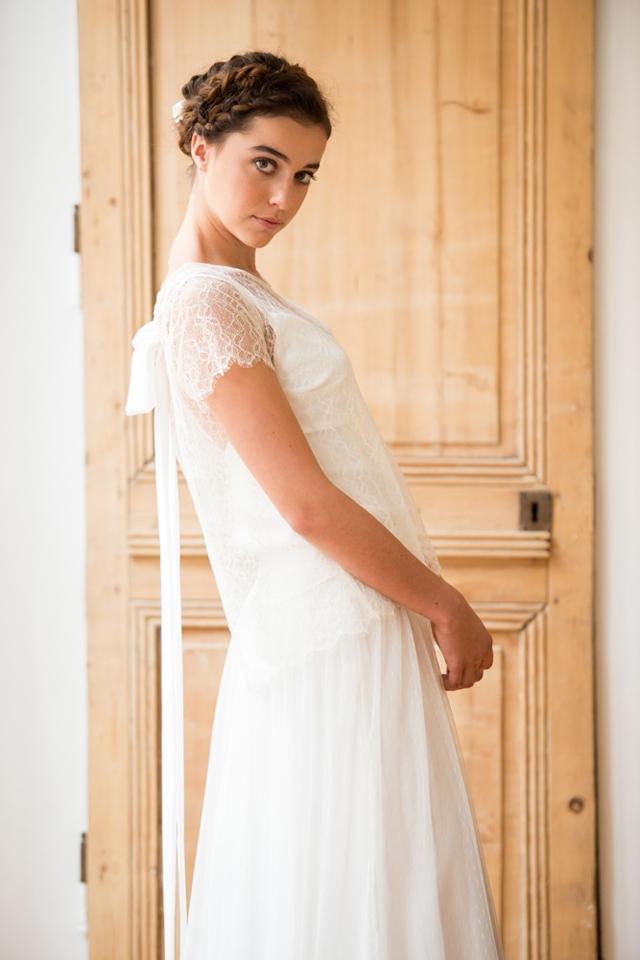 Aurelia Hoang robe de mariee 2015 Freija - Photo Cécile Cayon - La Fiancee du Panda blog mariage et lifestyle