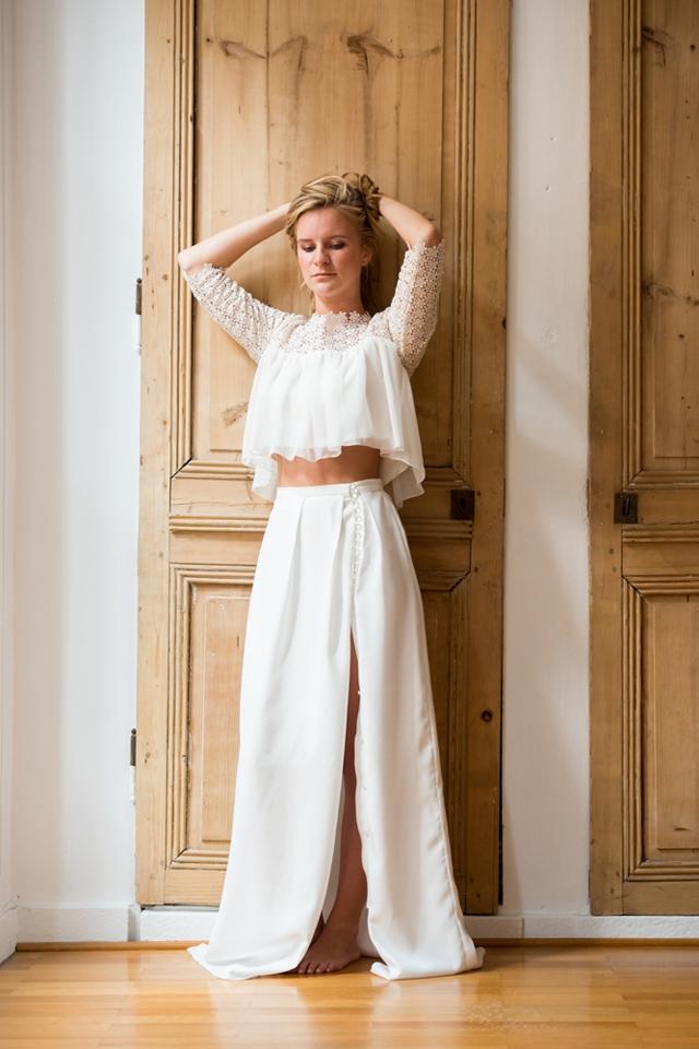 Aurelia Hoang robe de mariee 2015 robe Famke Felicia - Photo Cécile ...