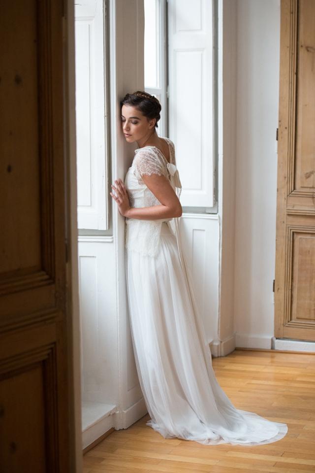 Aurelia Hoang robe de mariee 2015 robe Freija dentelle - Photo Cécile ...