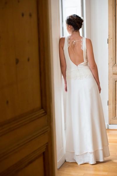 Aurelia Hoang robe de mariee 2015 robe dos nu Faust - Photo Cécile ...