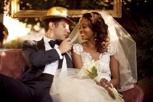 inspiration un superbe mariage r tro ann es folles. Black Bedroom Furniture Sets. Home Design Ideas