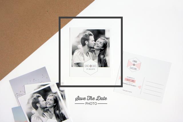My Dear Paper save the date mariage - La Fiancee du Panda blog mariage et lifestyle
