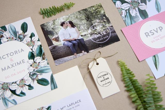 Save the date mariage tampon - My Dear Paper - La Fiancee du Panda blog mariage et lifestyle.