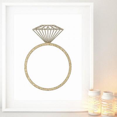 Affiche-bague-diamant-mariage-or-blursbyaiShop-Etsy-La-Fiancee-du-Panda-blog-Mariage-et-Lifestyle