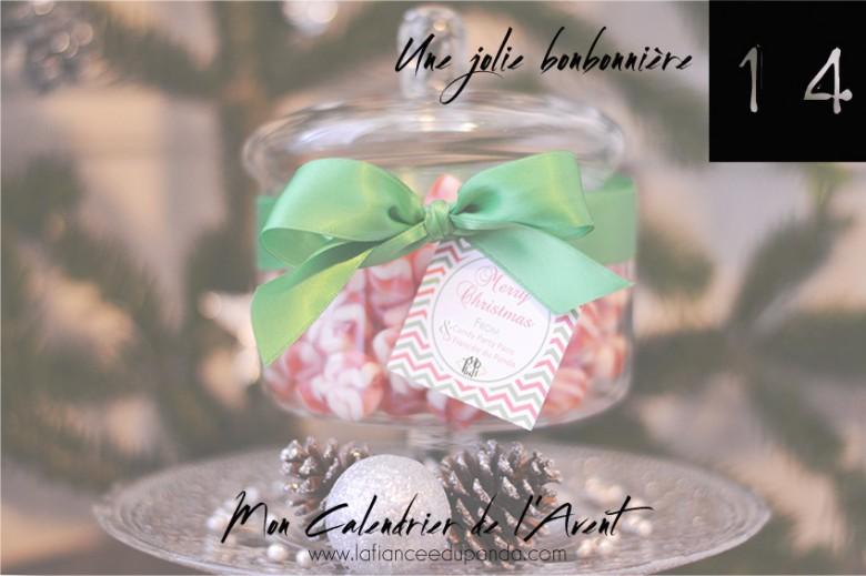 Candy bar Sweet bonbonniere noel My Candy Party - calendrier de l'Avent blogueuse - La Fiancee du Panda blog mariage