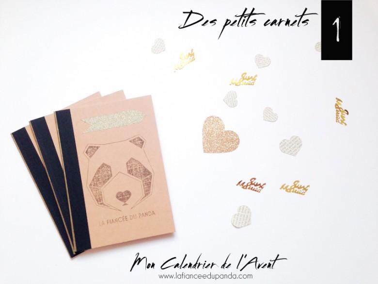 Carnets Panda Calendrier de l'avent blogueuse - La Fiancee du Panda Blog mariage-3803 copie