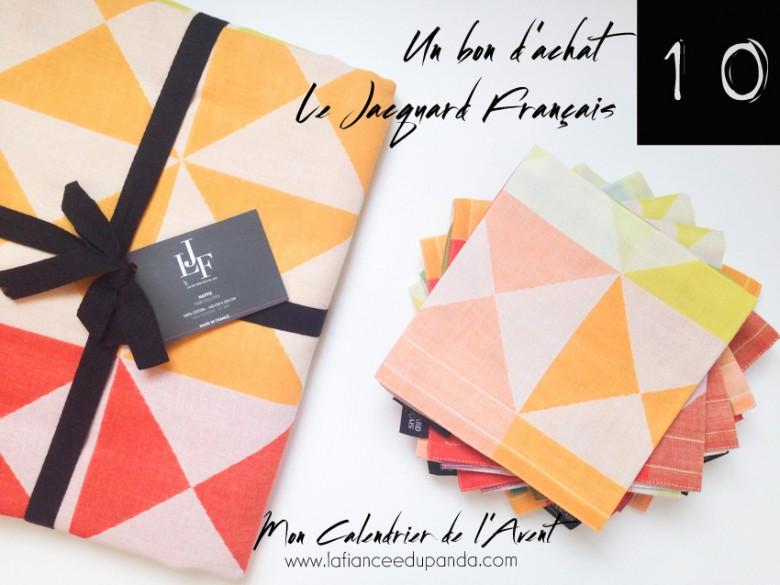 le jacquard franais nappe origami calendrier de lavent blog la fiancee du panda - Calendrier Noce De Mariage