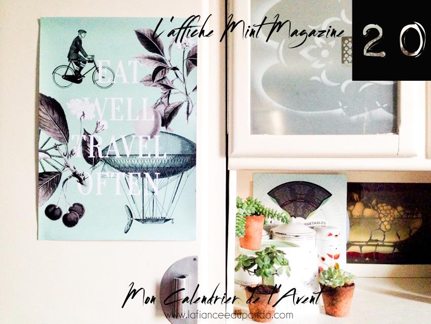 Magazine Mint - calendrier de l'Avent blogueuse - La Fiancee du Panda blog mariage