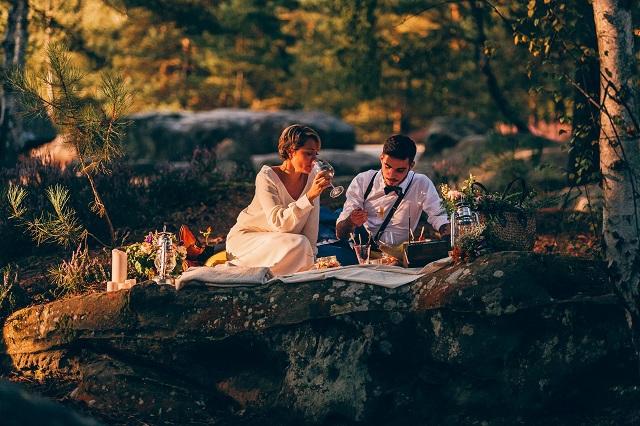 Mariage dans la foret shooting inspiration La Cerf des Confidences - photo Fabien les Bons Moments  - La Fiancee du Panda blog mariage-140