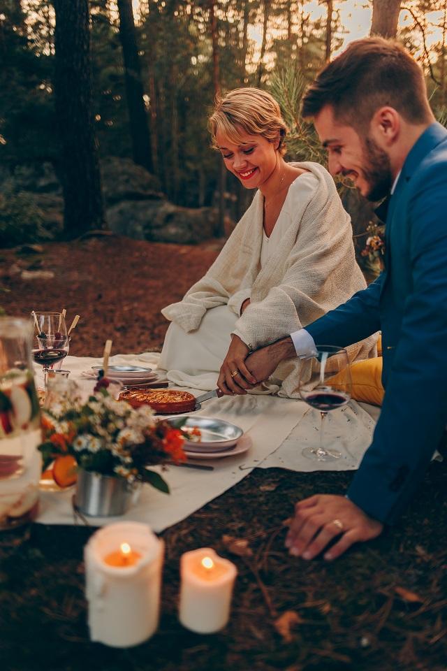 Mariage dans la foret shooting inspiration La Cerf des Confidences - photo Fabien les Bons Moments - La Fiancee du Panda blog mariage-149