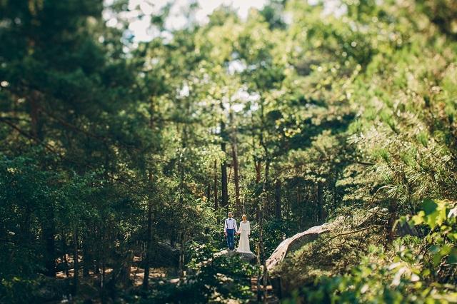 Mariage dans la foret shooting inspiration La Cerf des Confidences - photo Fabien les Bons Moments - La Fiancee du Panda blog mariage-67