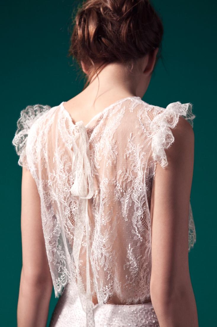 Meryl Suissa robe de mariee sur mesure Paris collection 2015 - La Fiancee du Panda blog mariage- top Bliss