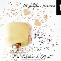 un photophore dor bensimon calendrier de lavent - Calendrier Noce De Mariage