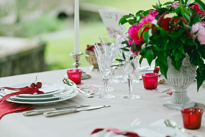 Mariage champetre chic rouge for Deco quimperle