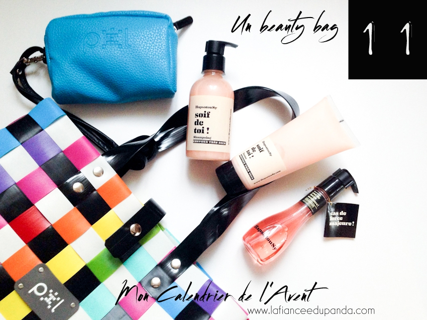 shampoing Hapsatou Sy et Pixl bag avis Calendrier de l'Avent blogueuse - La Fiancee du Panda Blog mariage-3832