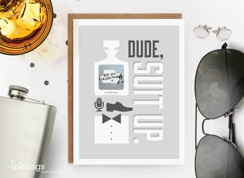 Carte veux tu etre mon temoin homme DIY Mariage Etsy - La Fiancee du Panda blog mariage
