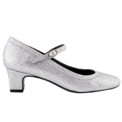 chaussures argentes - Escarpin Argent Mariage