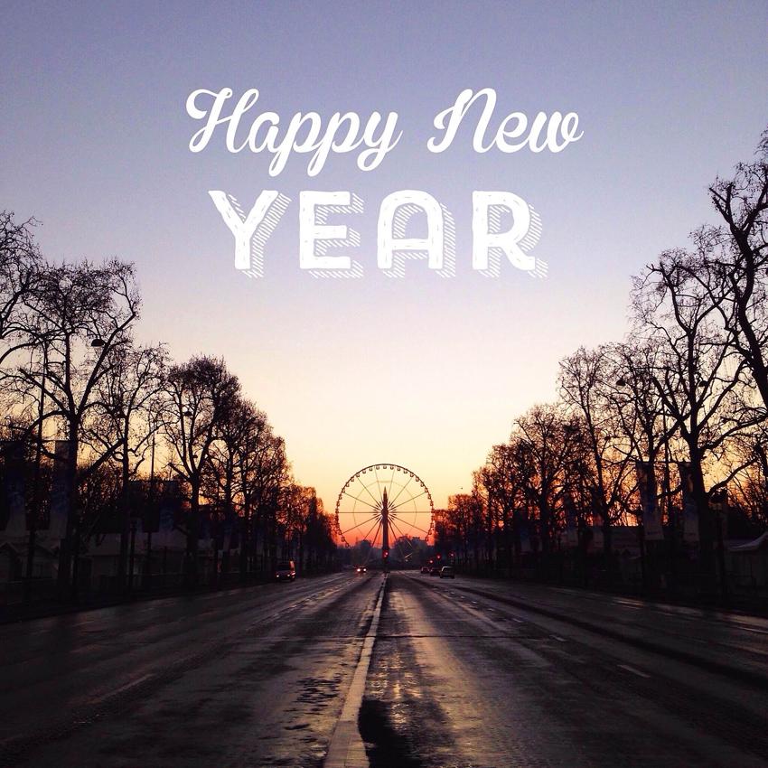 Happy New Year by La Fiancee du Panda blog mariage