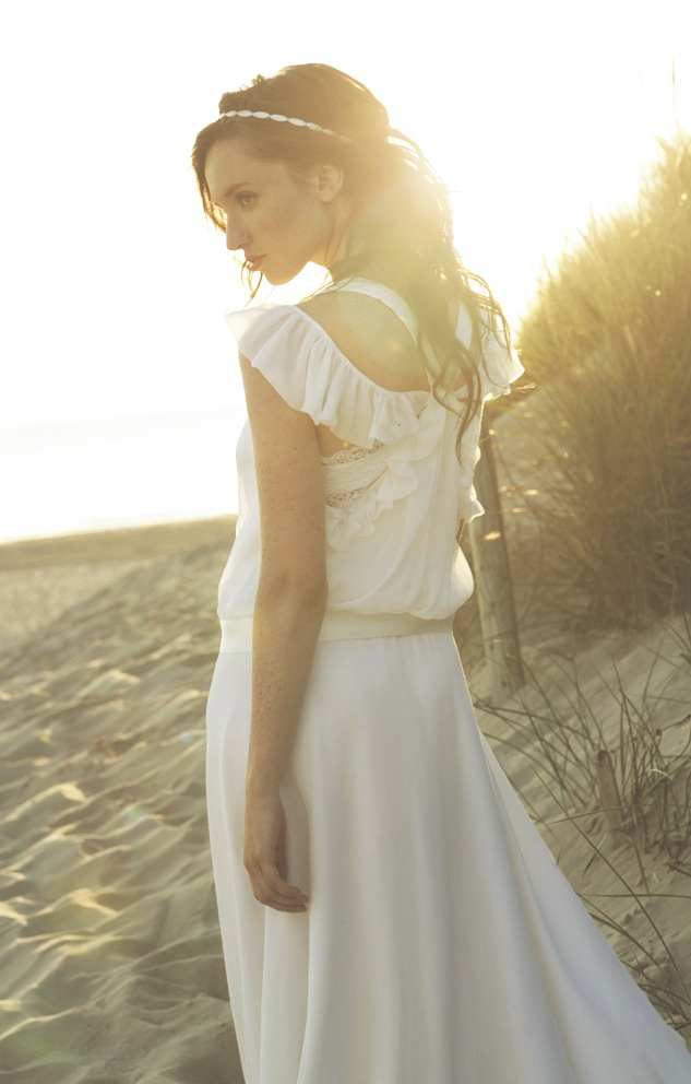 Robe de mariee Sophie Sarfati Robe Charlize -Collection 2015 - La Fiancee du Panda blog mariage