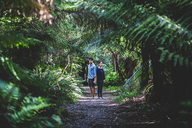 Seance couple naturelle session engagement - photographe By Chloe - La Fiancee du Panda blog mariage-35