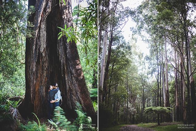 Seance couple naturelle session engagement - photographe By Chloe - La Fiancee du Panda blog mariage-45