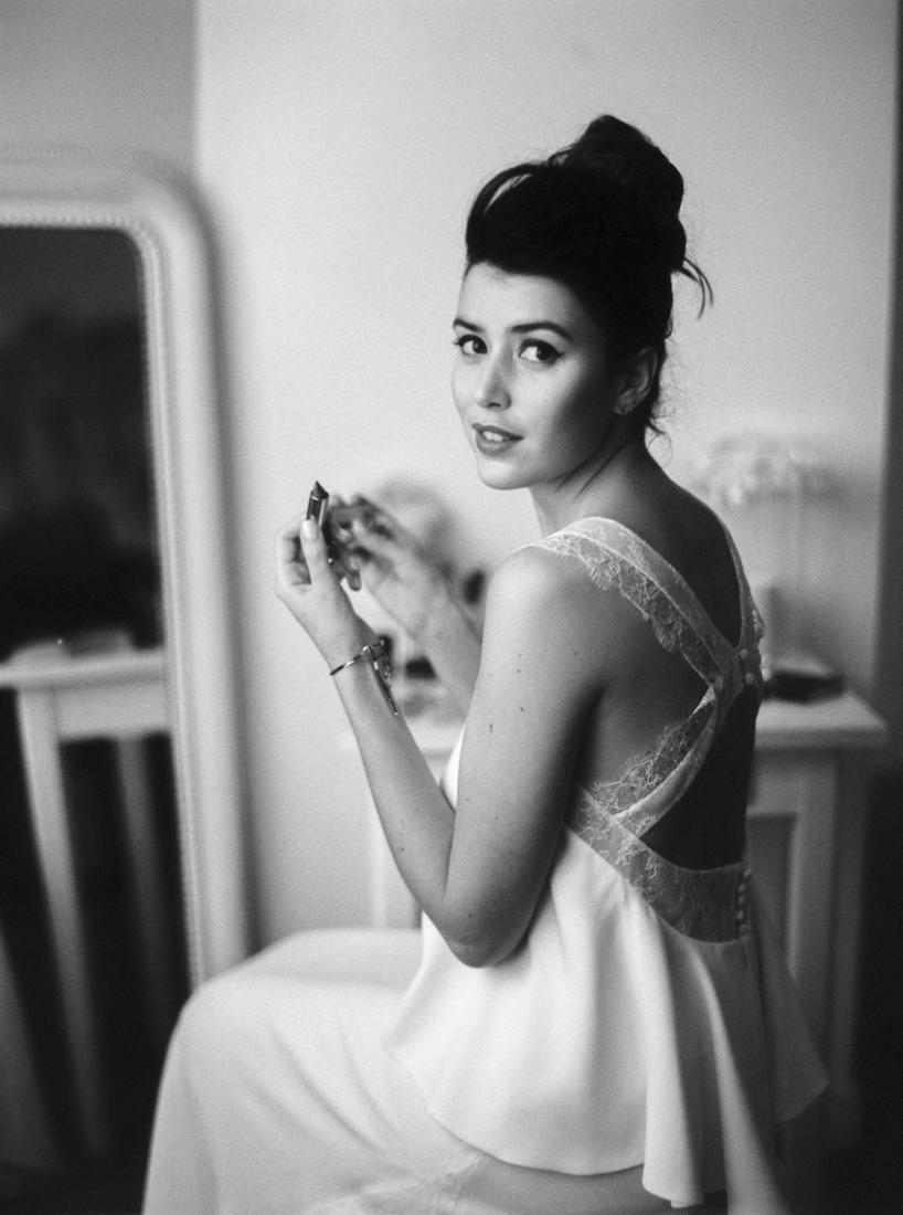 Sophie Sarfati robe de mariee creatrice a Paris - Stylisme La Fiancee du Panda - photos Yann Audic  -shooting ambiance blog mariage-24