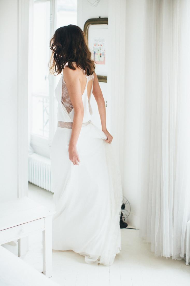 Sophie Sarfati robe de mariee creatrice a Paris - Stylisme La Fiancee du Panda - photos Yann Audic -shooting ambiance blog mariage-9051